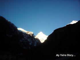 Neelkanth peak in the Garhwal Himalayas, Badrinath
