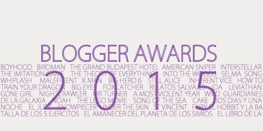 Blogger Awards 2015