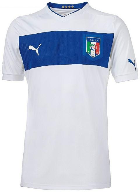 A fabricante de material esportivo Puma apresentou a nova camisa reserva  que a seleção da Itália utilizará na disputa da Euro 2012. 118648438bd09