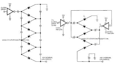Simple Voltage Multiplier Circuit Diagram