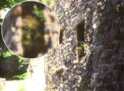 Real Ghost Photo: Baden-Baden Castle Ghost (Germany)