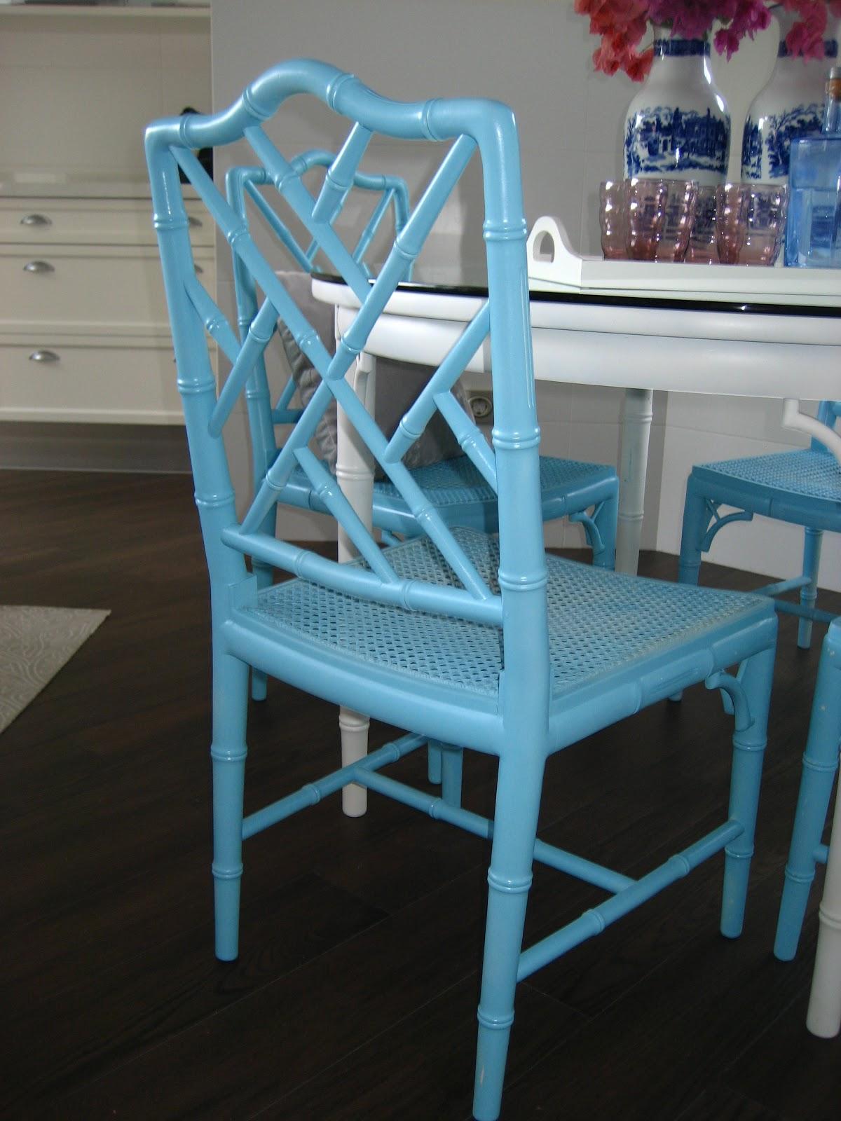 Cocobelle for sale faux bamboo chair sillas falso bambu - Sillas de bambu ...