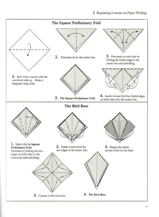 o que 201 meu 201 nosso origami rosa base do p225ssaro bird
