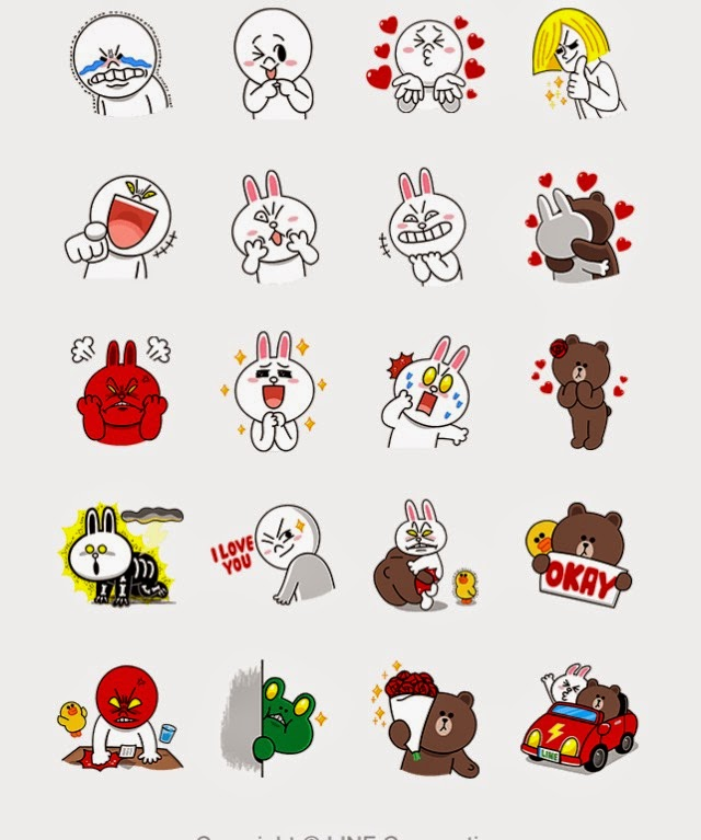 how to download line stickers for free