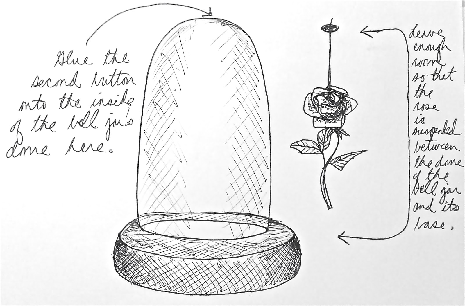 The Domestic Fairy Tale Princess The Enchanted Rose A Tutorial