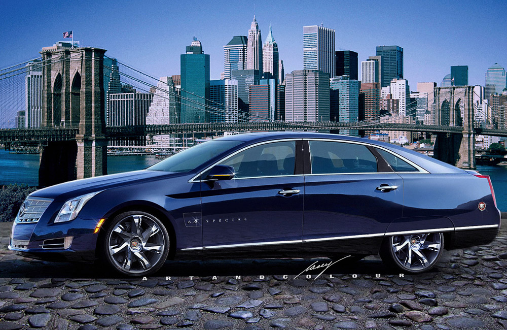 caseyartandcolourcars 2014 Cadillac Seville The New Standard