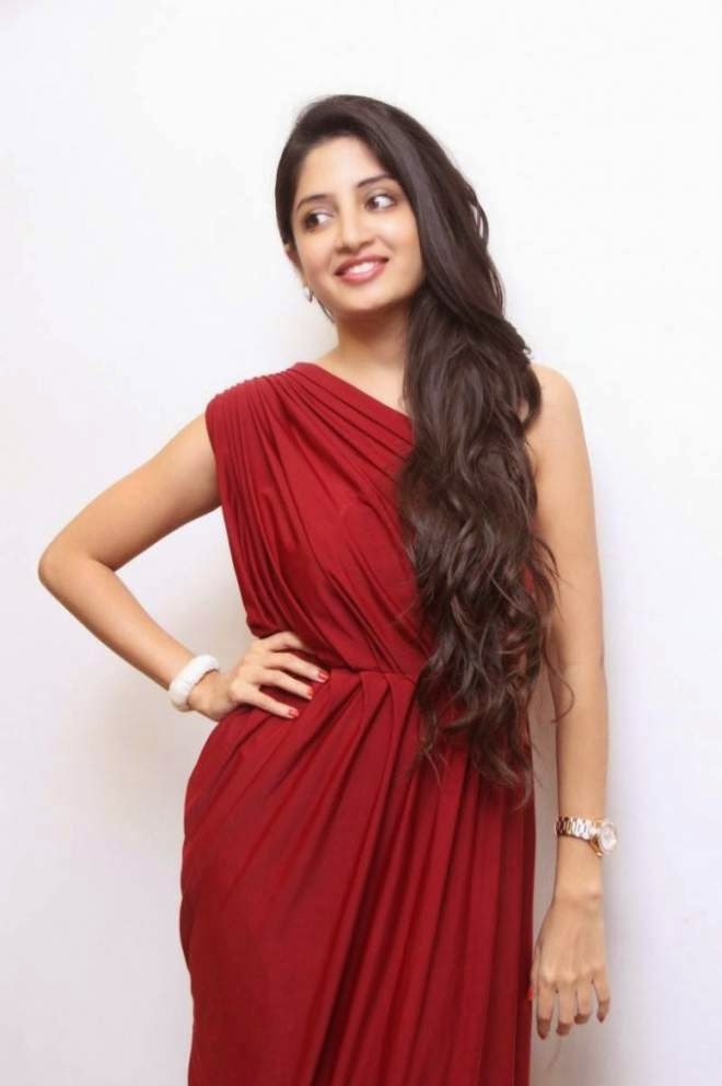Poonam Kaur Latest Hot Photos In Red Dress