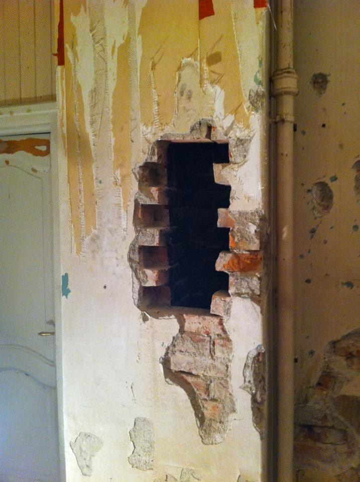 Villa birkely   restaurering: kjøkkenet på villa birkely