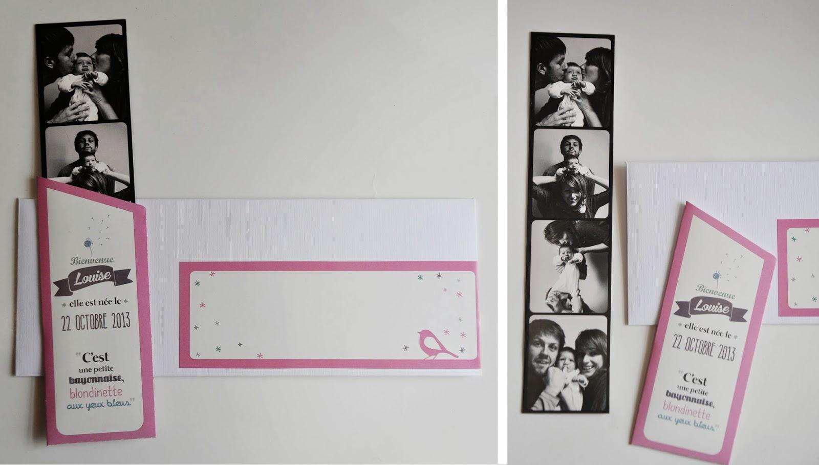 petite pochette en papier 240gr et son magnet photomaton dans une enveloppe personnalis e. Black Bedroom Furniture Sets. Home Design Ideas