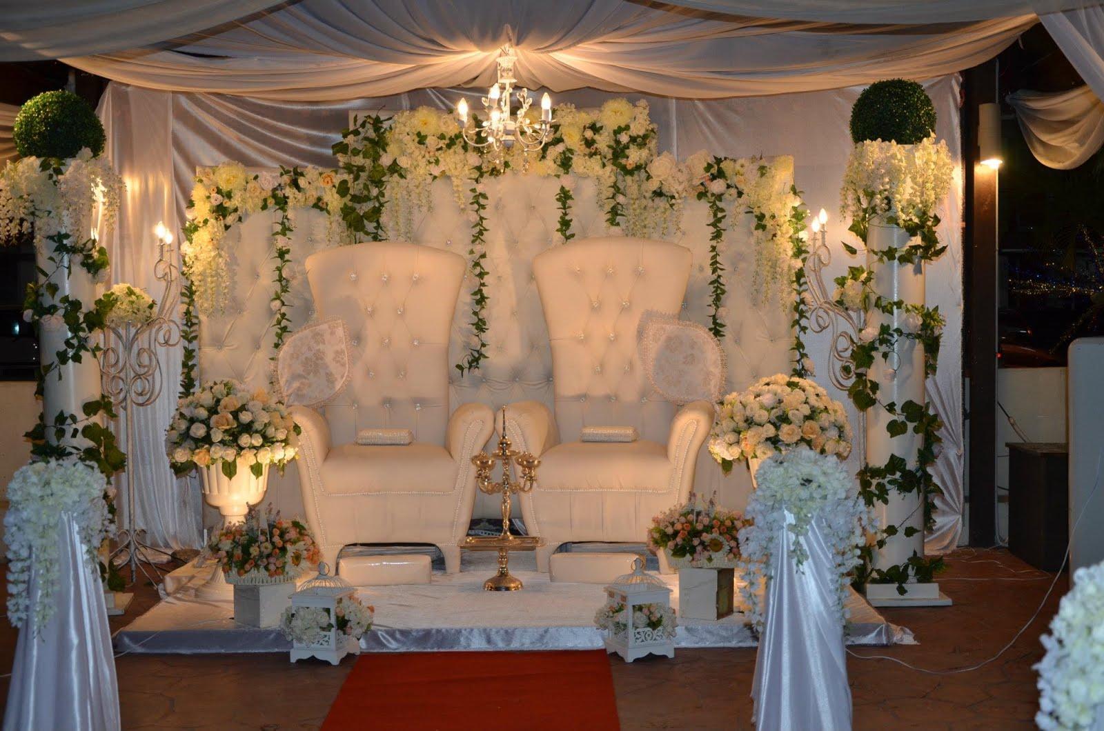 Pelamin chenta wedding