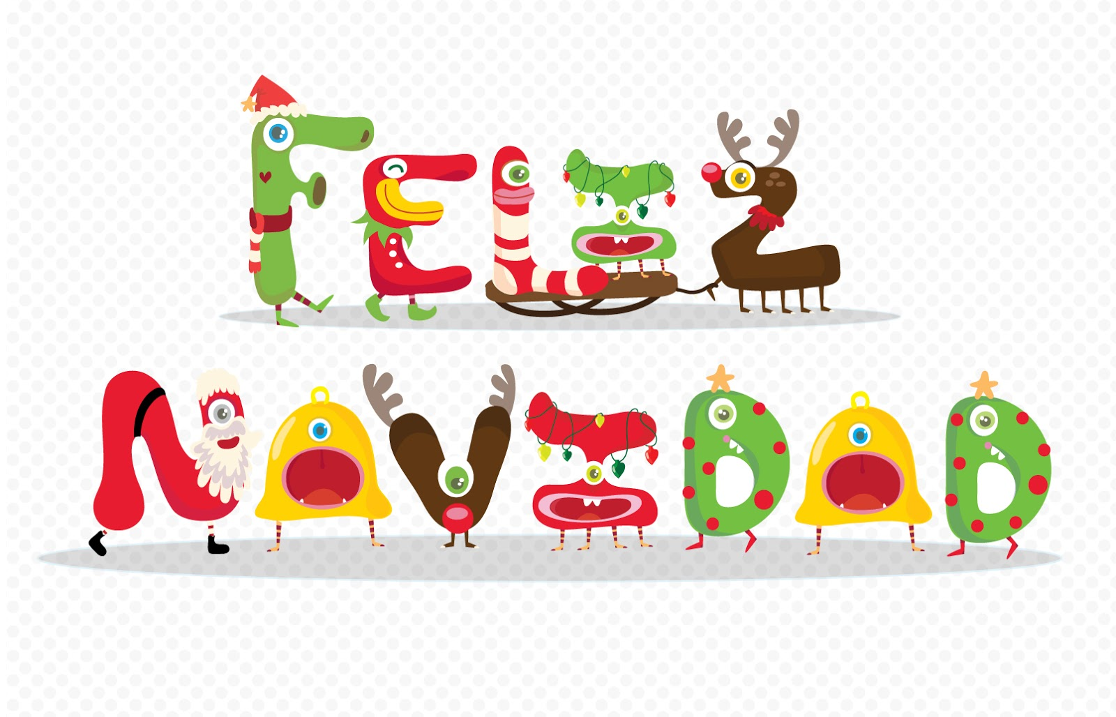 Feliz navidad - Wallpaper