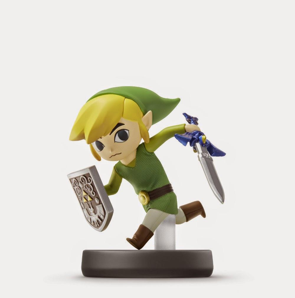 JUGUETES - NINTENDO Amiibo - 22 : Figura Toon Link   (23 enero 2015) | Videojuegos | Muñeco | Super Smash Bros Collection  Plataforma: Wii U & Nintendo 3DS