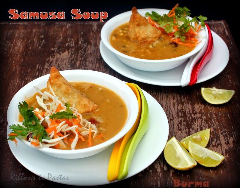 Samusa thouk a burmese street food ribbons to pastas samusa thouk a burmese street food forumfinder Gallery