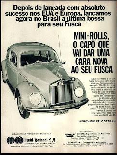 propaganda Multi National S. A. - 1973. 1973. brazilian advertising cars in the 70. os anos 70. história da década de 70; Brazil in the 70s; propaganda carros anos 70; Oswaldo Hernandez;