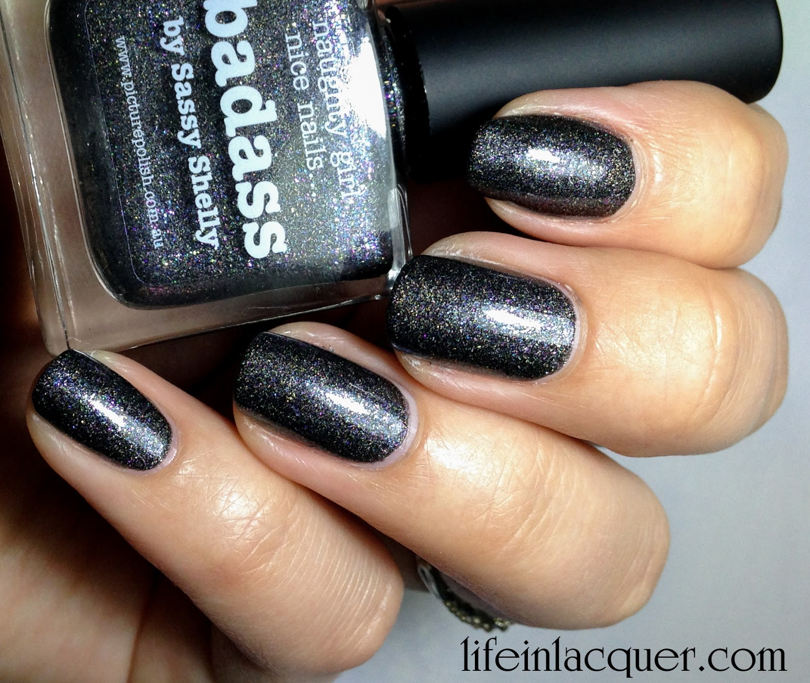 piCture pOlish Badass Swatch and Review