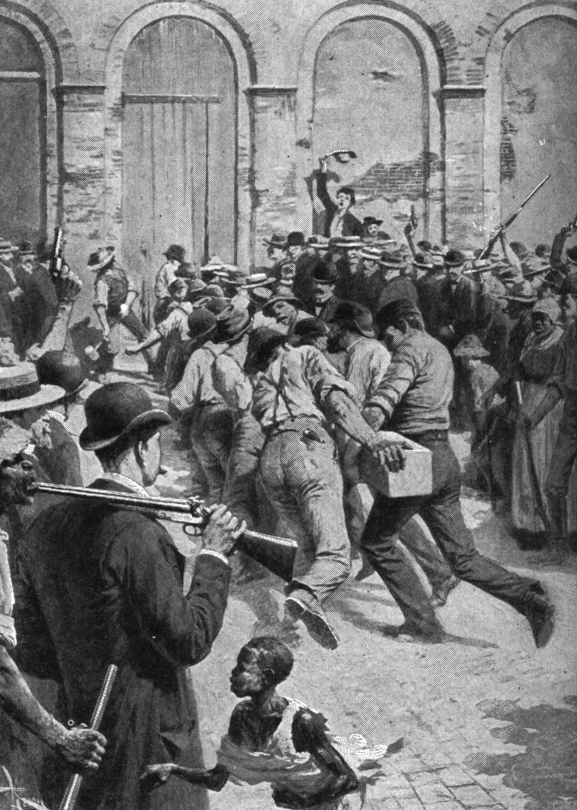 Mob Vengeance in 1891 New Orleans - Tempt Me Not...