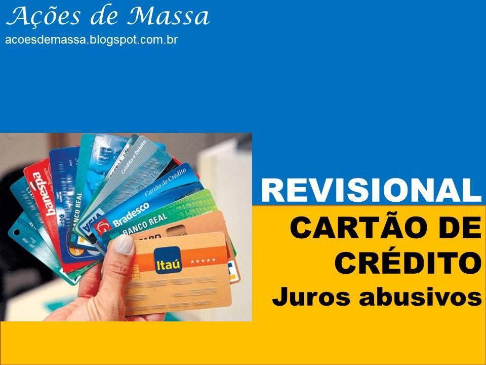 Revisional de cartão de crédito