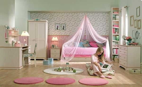Home Interior Design Ideas For The Bedroom Of Teenage Girls