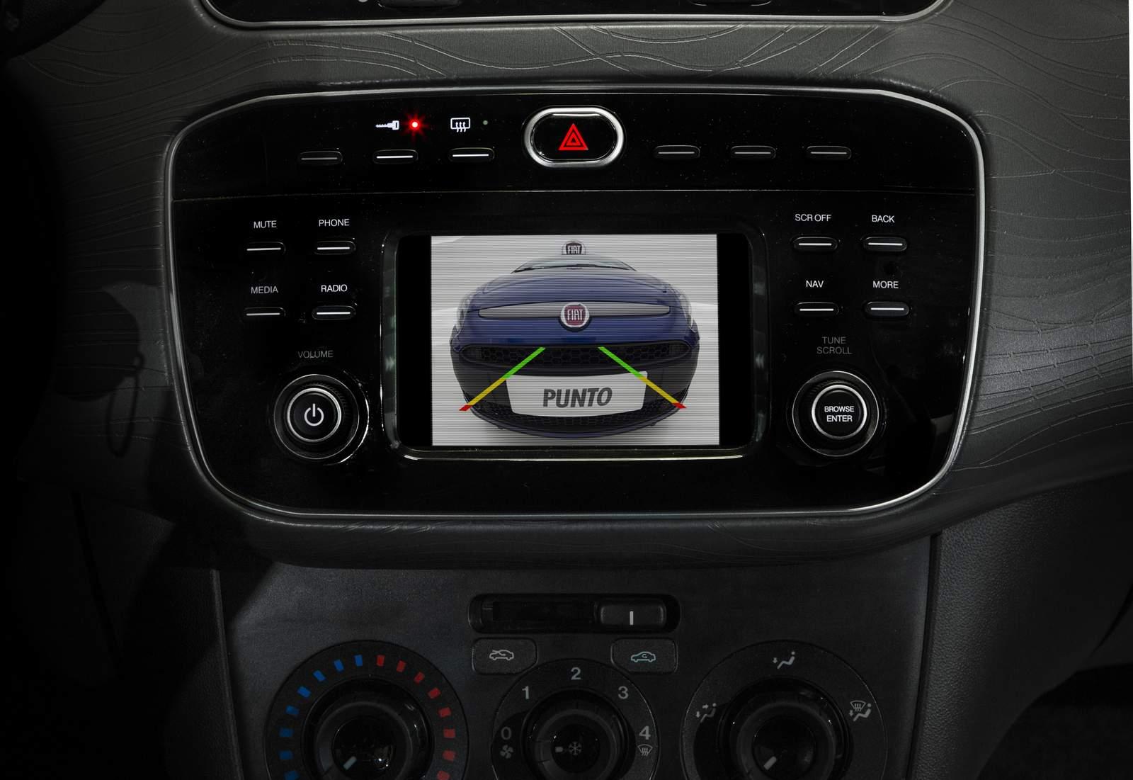 Novo Fiat Punto 2016 - Central Multimídia