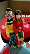 Elton's Old Master Q cake