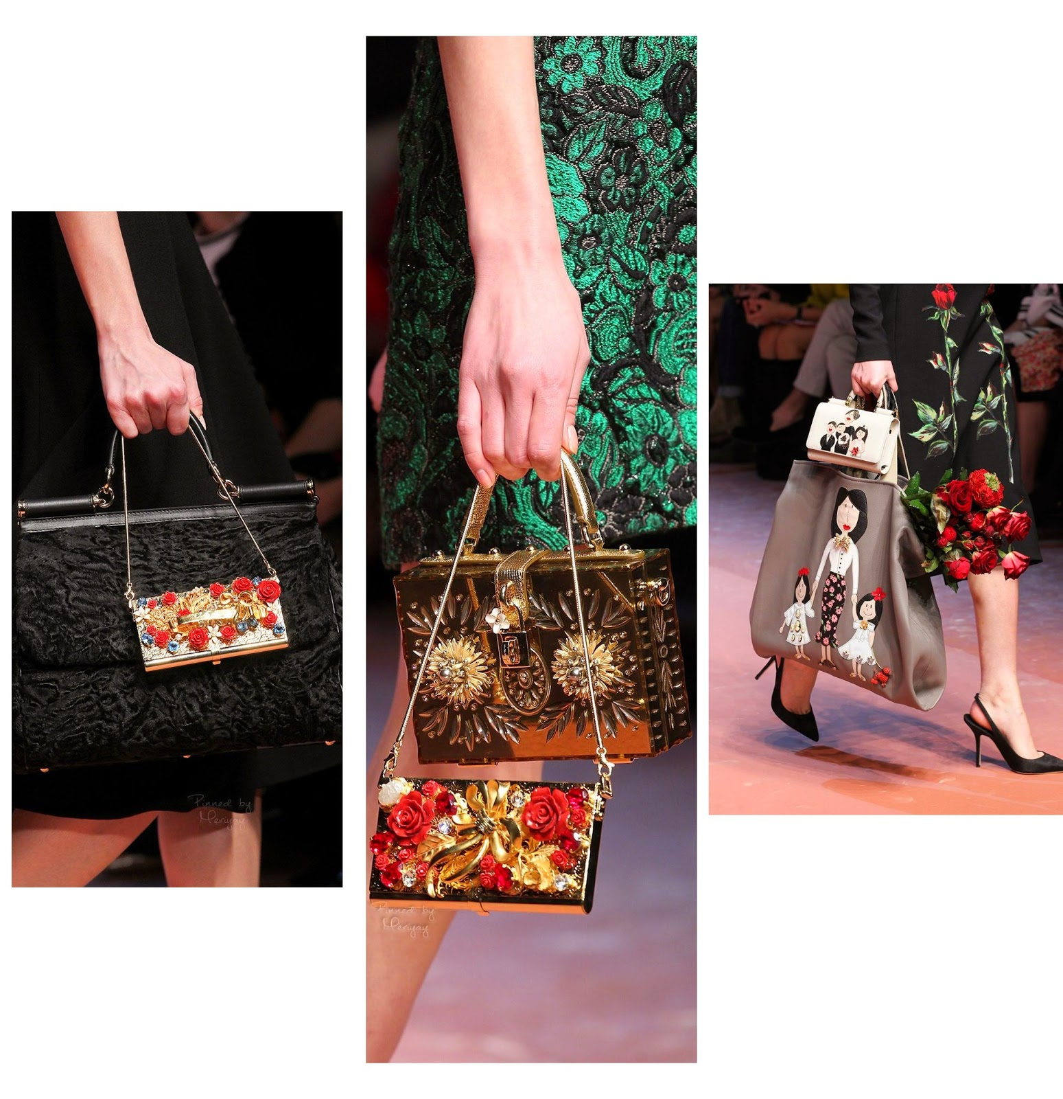 Malas tendências verão e outono 2015 Dolce & Gabbana