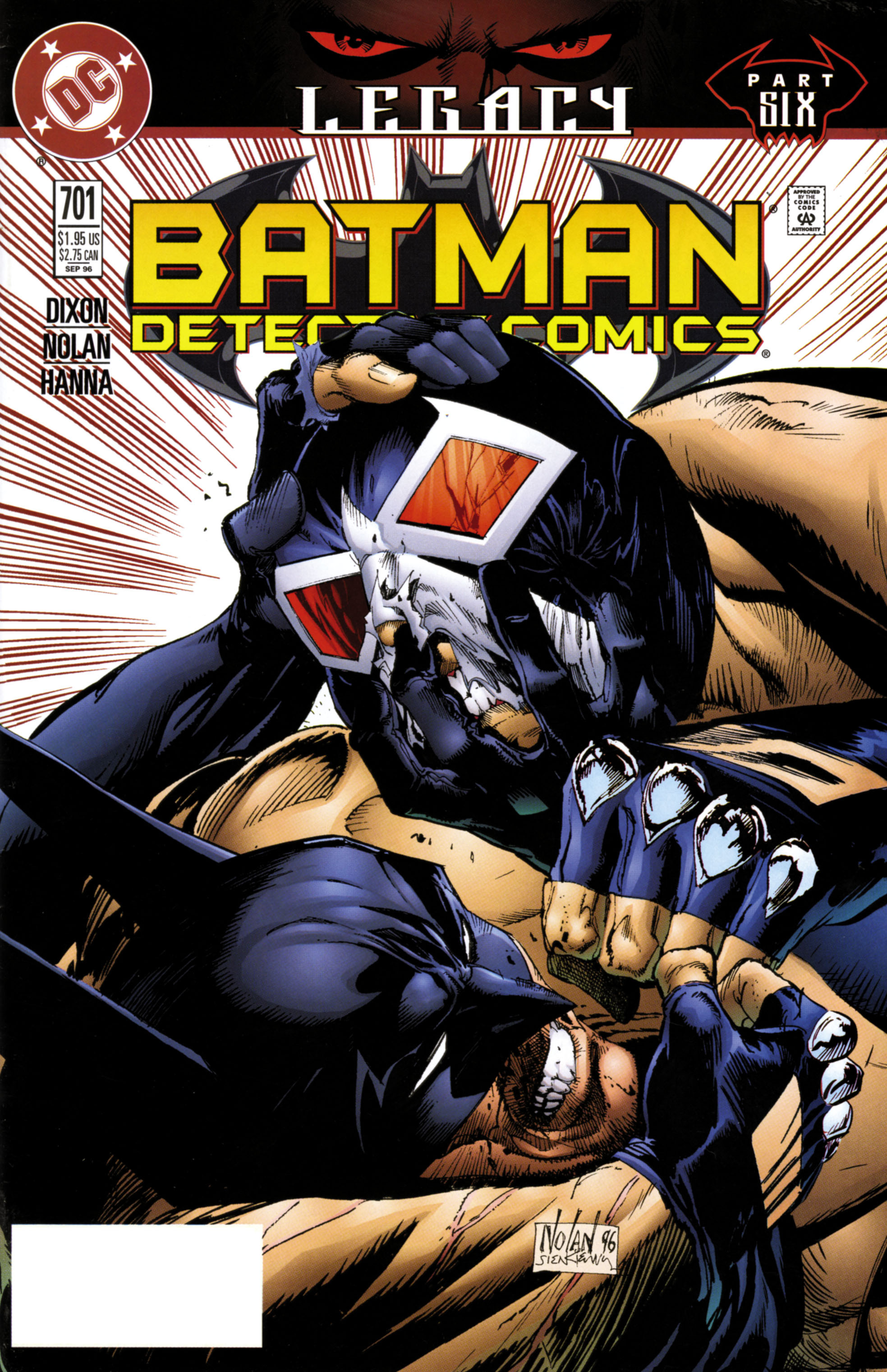 Detective Comics (1937) 701 Page 1