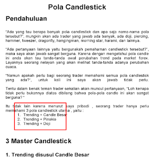 Download ebook 3 master candlestik forex