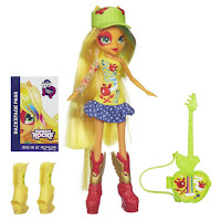 Equestria Girls Applejack Guitar Doll