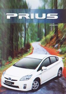 Brosur Toyota Prius