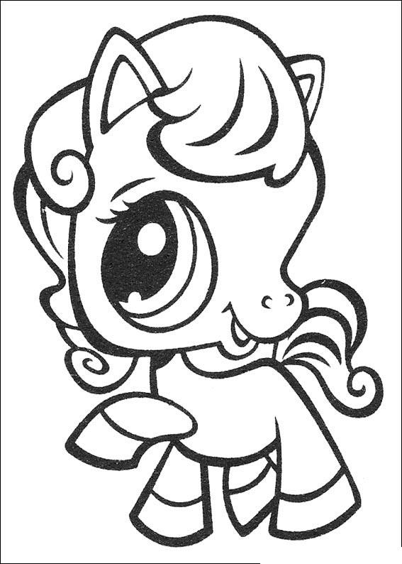 Littlest Pet Shop Coloring Pages For Kids
