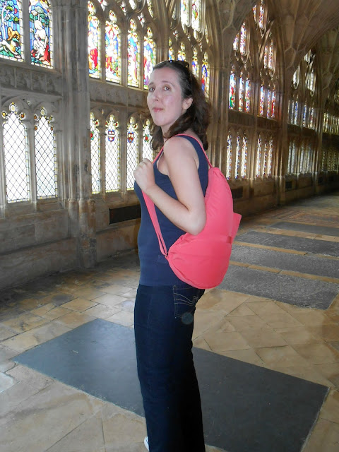 The Healthy Back Bag Company, Gloucester Cathedral, Healthy, Kelly Martin Speaks