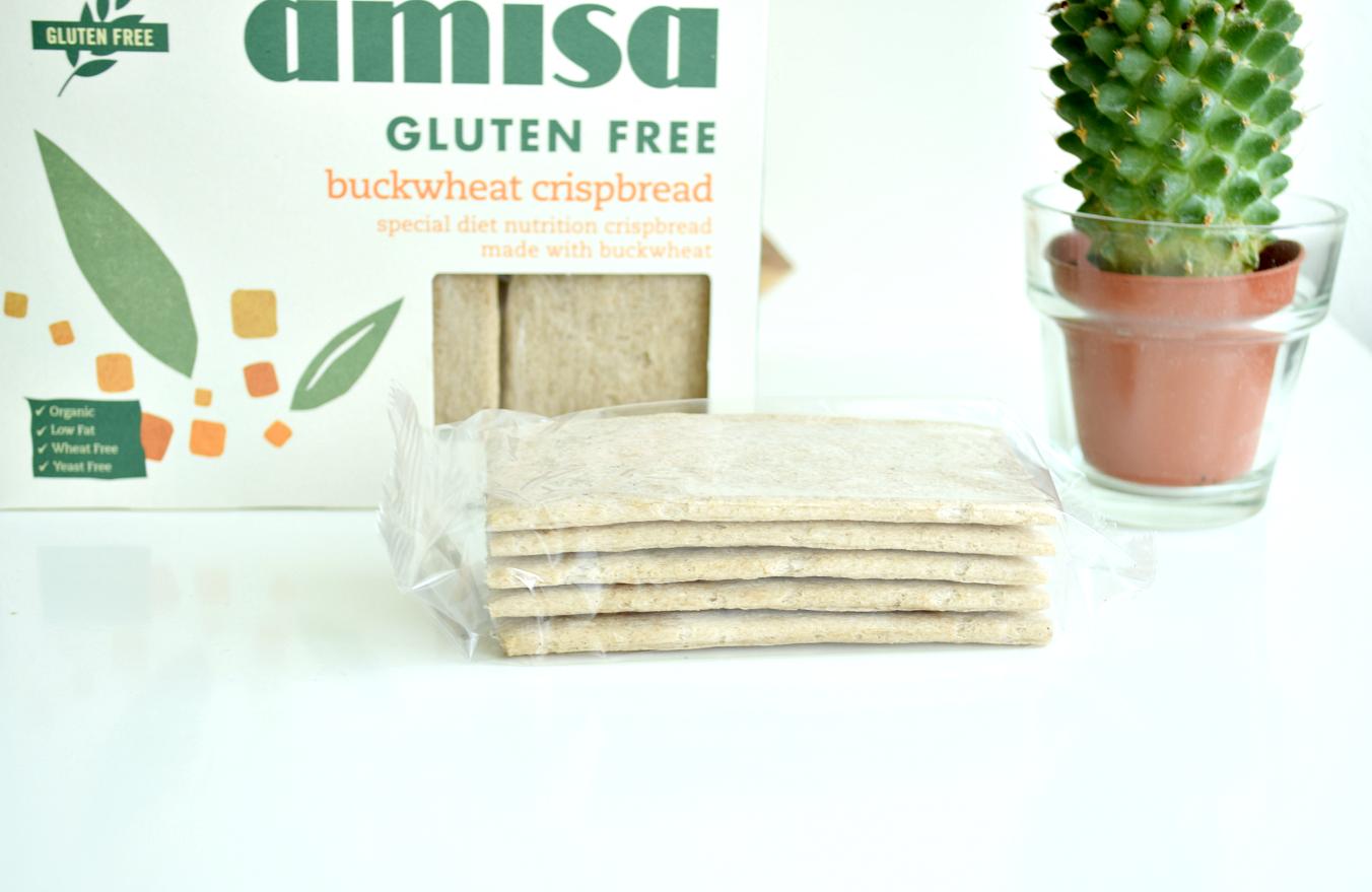 amisa buckwheat crispbread