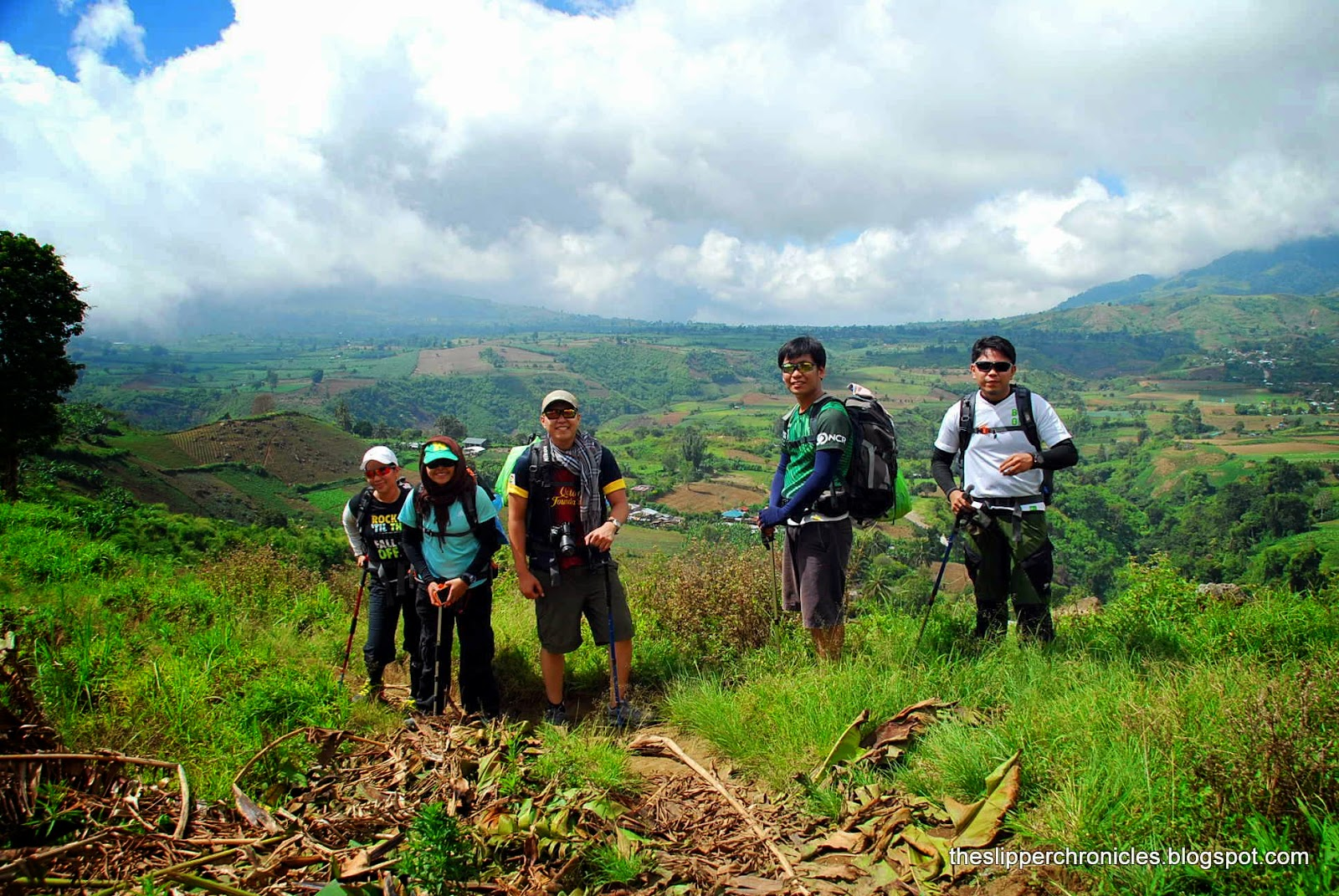 Trekking to Mount Apo