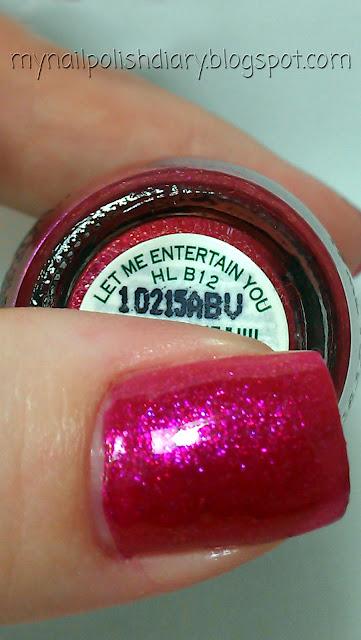 My Nail Polish Diary: OPI Let Me Entertain You