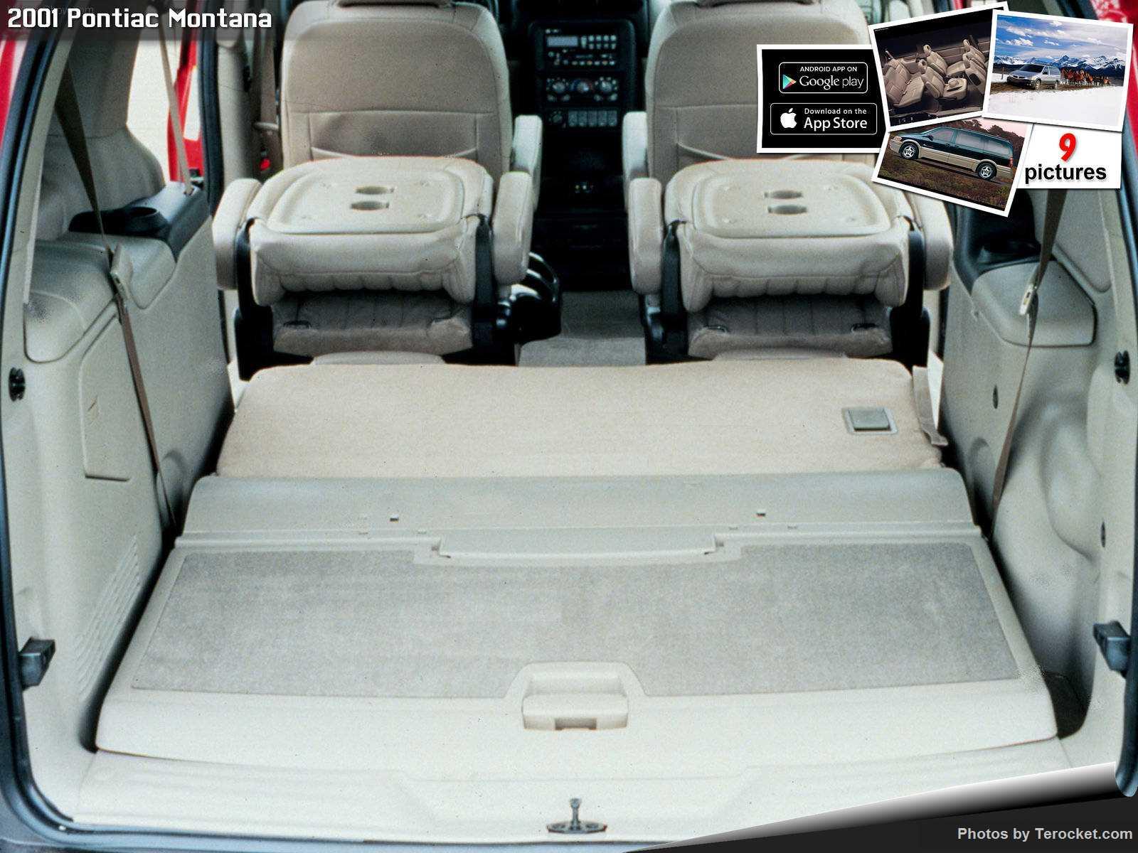 Hình ảnh xe ô tô Pontiac Montana 2001 & nội ngoại thất
