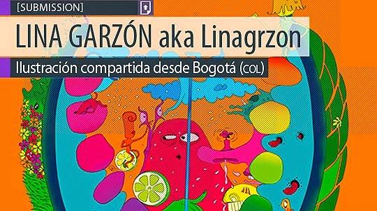 Ilustración. Munditomarica de LINA GARZÓN aka Linagrzon