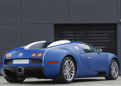 Bugatti Veyron Bleu Centenaire 2009