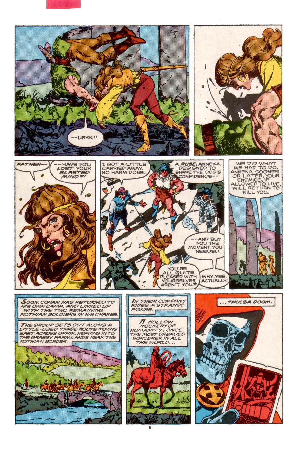 Conan the Barbarian (1970) Issue #202 #214 - English 6