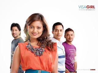 Visa Girl Poster