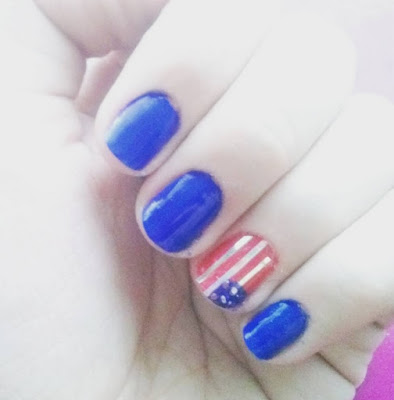 Manicura 4th of July