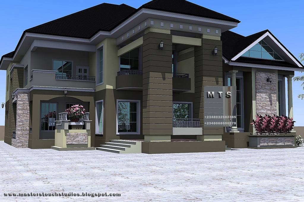 5 bedroom duplex residential homes and public designs for 4 bedroom duplex designs