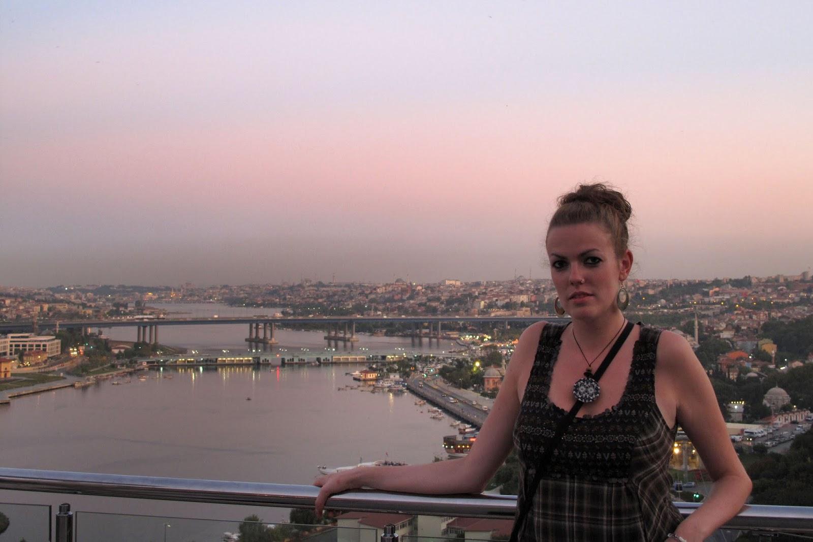Rebeca en Estambúl