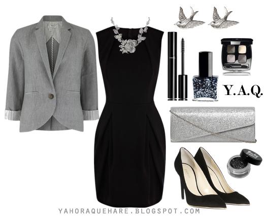 Accesorios para vestido negro formal