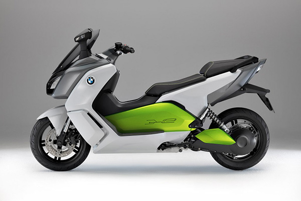The Posers Scooter Club: BMW C Evolution 2016