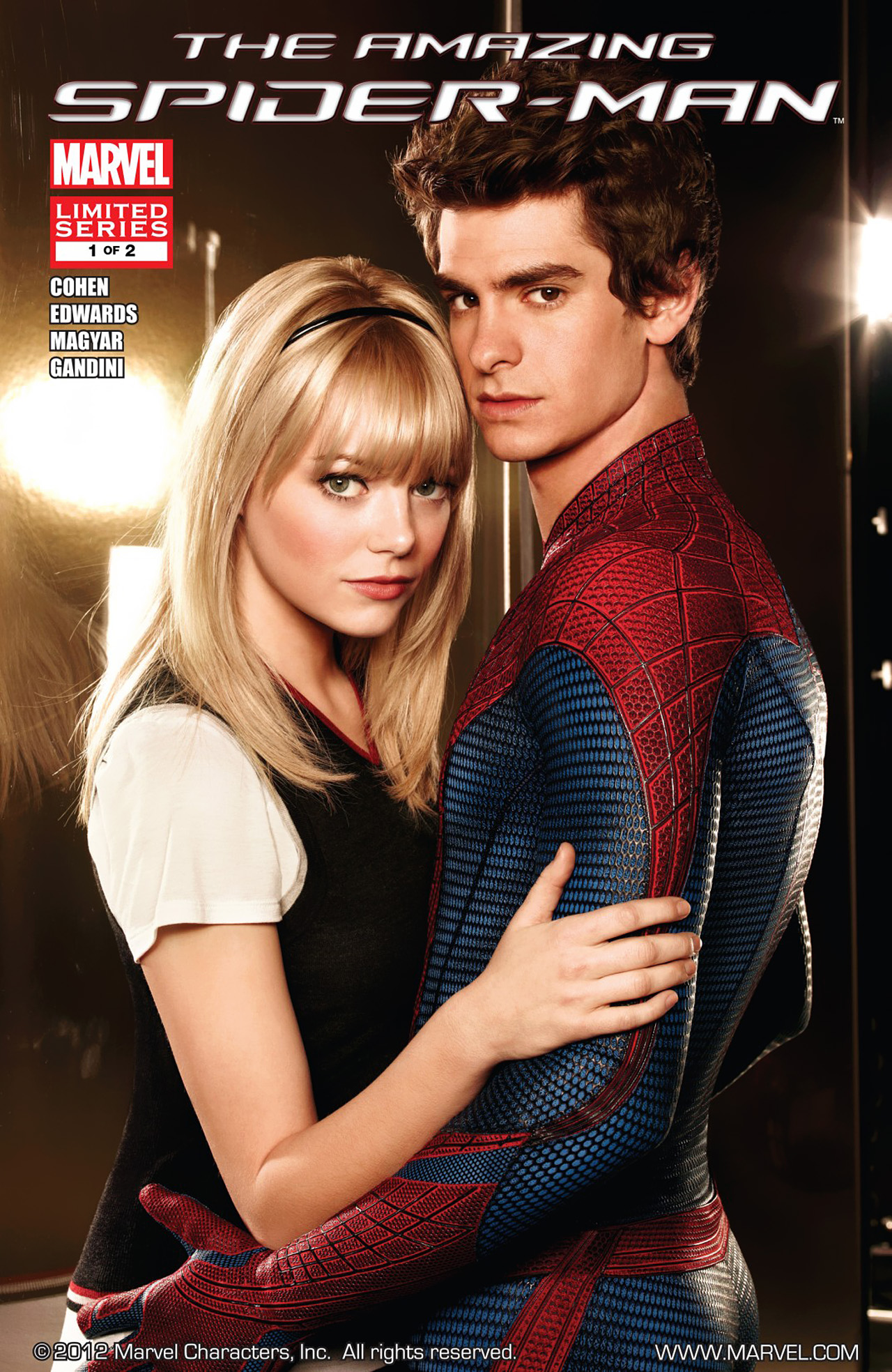 Amazing Spider-Man: The Movie 1 Page 1