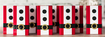 Santa Decorated Sweet Boxes - an ideal treat / small gift - find out more here