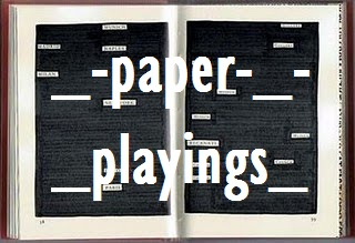 LaBoratrio paper_pLayings
