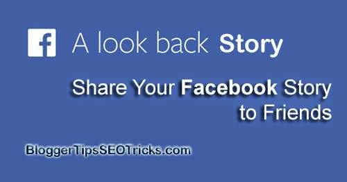 creating your look back story on facebook