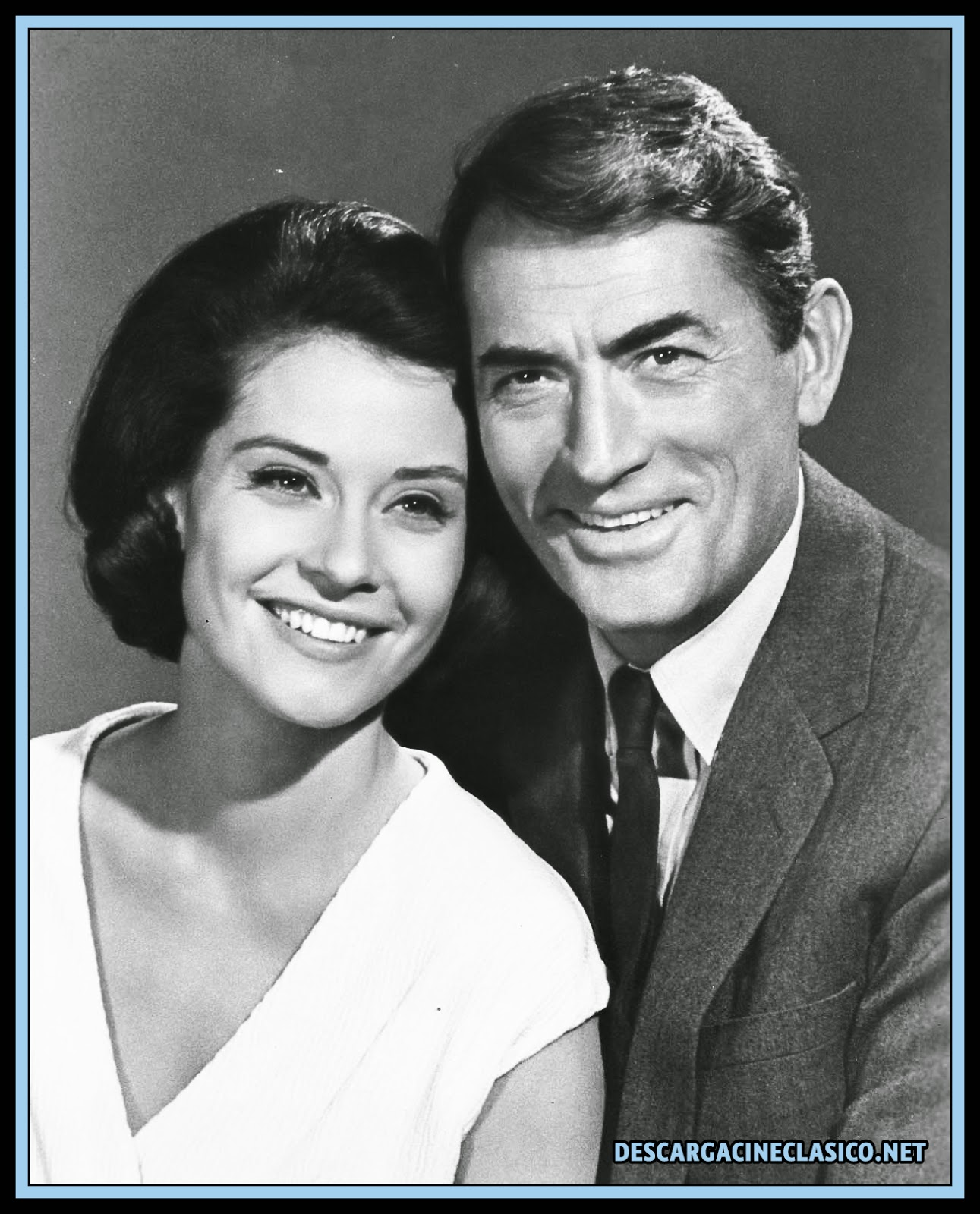 Diane Baker y Gregory Peck - Espejismo (1965 - Mirage)