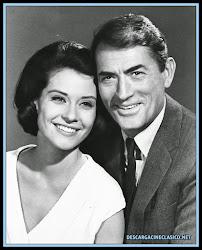 Diane Baker y Gregory Peck